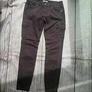 CAbi Jeans - Cabi Skinny Cargo Pant in Eggplant Size 4